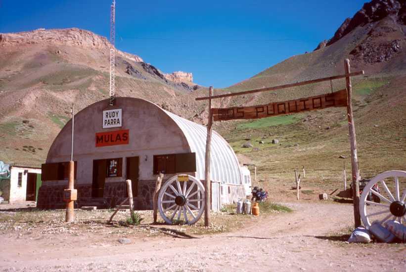 Rudy Parra's mule depot