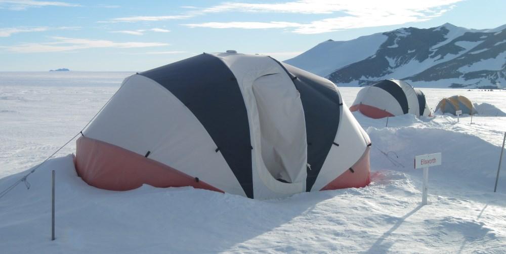 tent at Patriot Hills