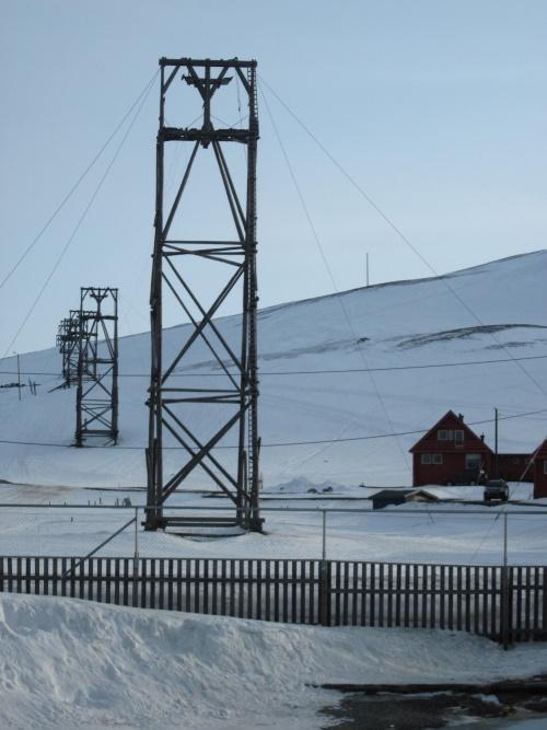 Coal tramway towers