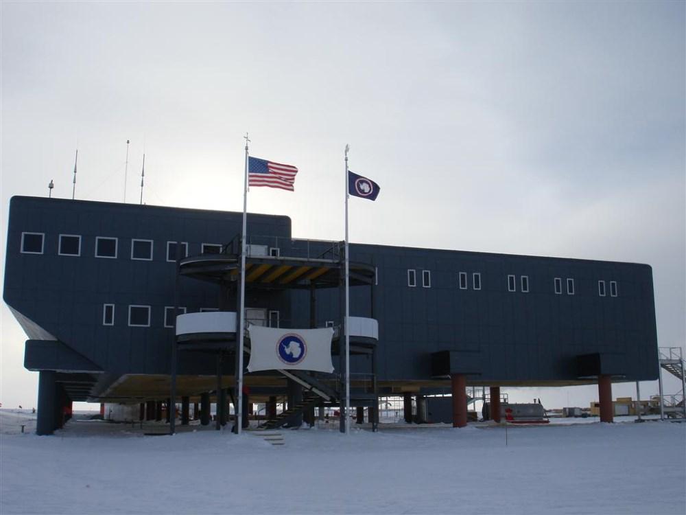 Destination Alpha at South Pole Station