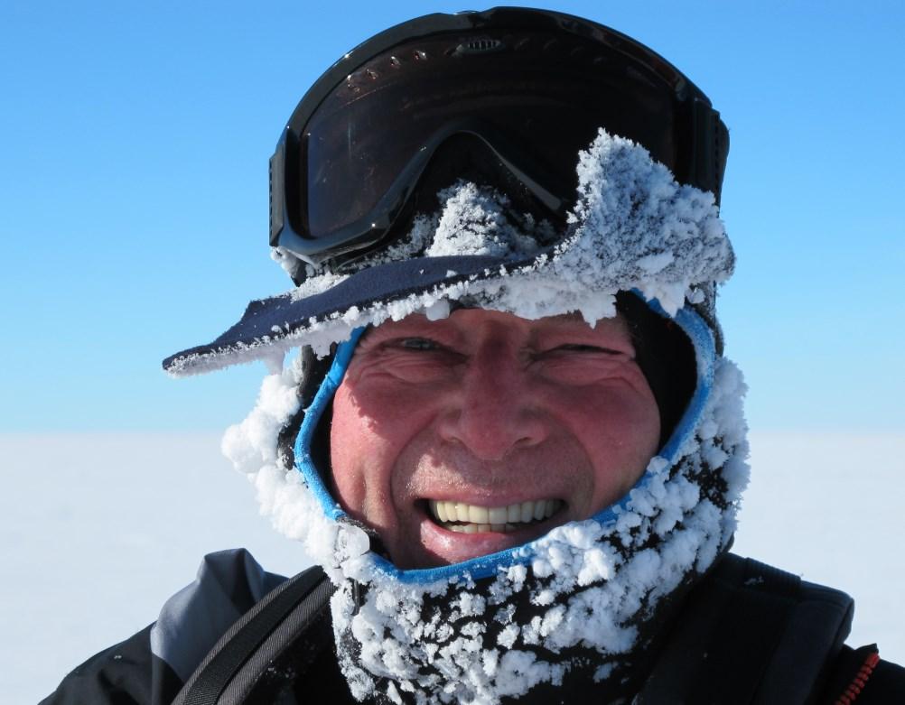 Stephan on polar plateau