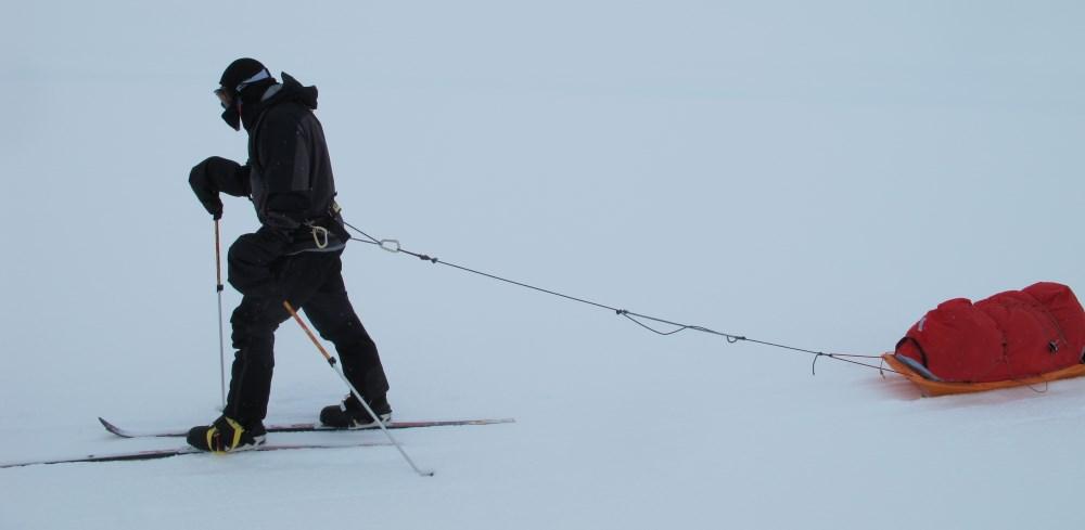 Pogies on ski poles