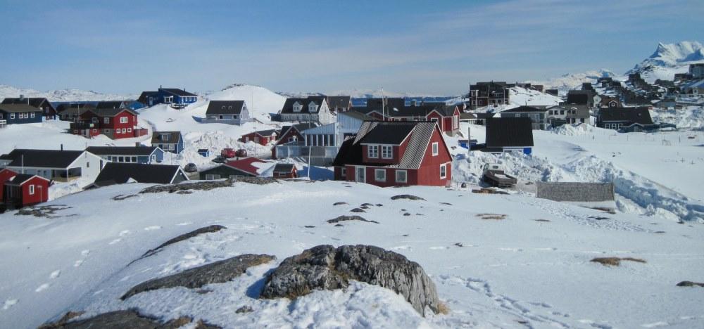 Snowy Nuuk, Greenland