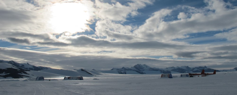 Patriot Hills Base in Antarctica