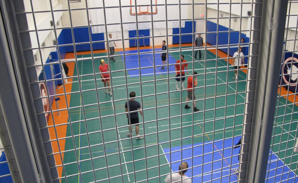 Volleyball at Pole