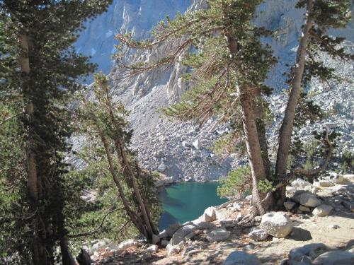 Heart Lake in hidden basin