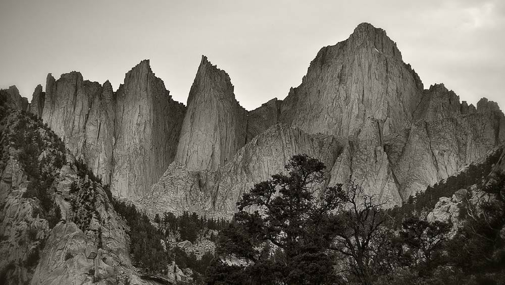 Mt Whitney range