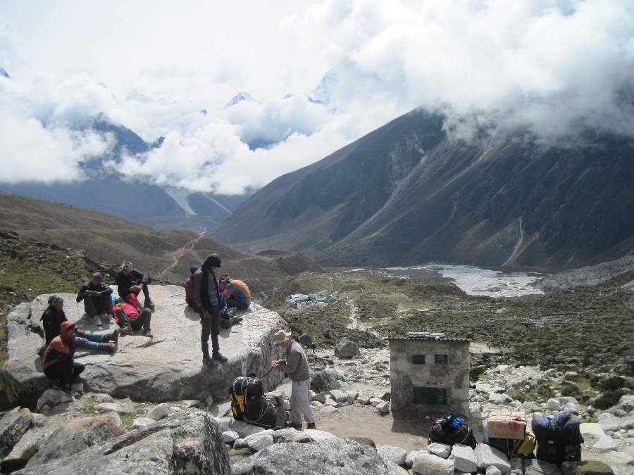 Atop the Thukla Step