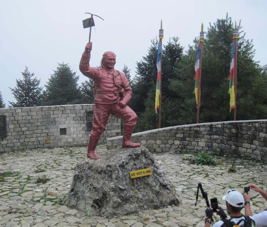 Statue of Tenzing Norgay Sherpa
