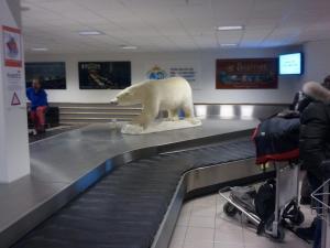 Svalbard Airport inside