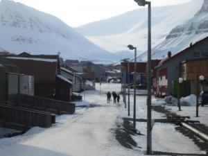 Longyearbyen Pedestrian Mall