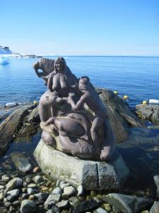 Mother  of the Sea statue Nuuk